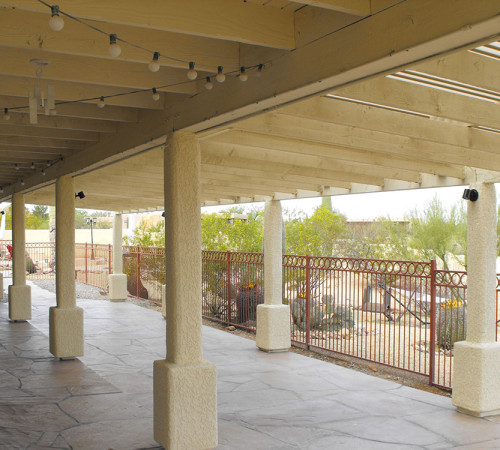 Shade Structure Covered Patio